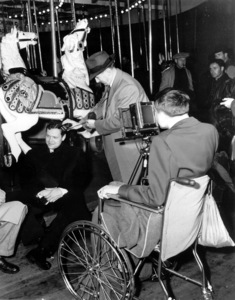 """""""Lady From Shanghai""""Orson Welles  on the set.1948 Columbia / **I.V. - Image 19700_0017"""