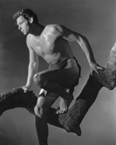 """Tarzan And His Mate""Johnny Weissmuller1934 MGM / Photo by Harvey White**I.V. - Image 19709_0004"