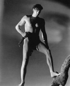 """Tarzan And His Mate""Johnny Weissmuller1934 MGM / Photo by Harvey White**I.V. - Image 19709_0006"