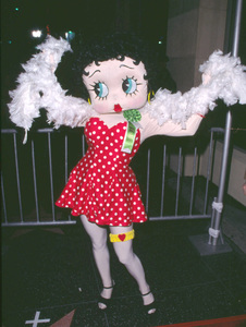 Betty Boop at the Hollywood Christmas Parade in Hollywood Ca. 11/25/01 © 2001 Glenn Weiner - Image 19710_0101