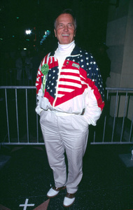 Pat Boone dressed atteded the Hollywood Christmas Parade in Hollywood California. 11/25/01 © 2001 Glenn Weiner - Image 19710_0126