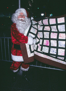 Santa Claus at the Hollywood Christmas parade in Hollywood California 11/25/01 © 2001 Glenn Weiner - Image 19710_0128