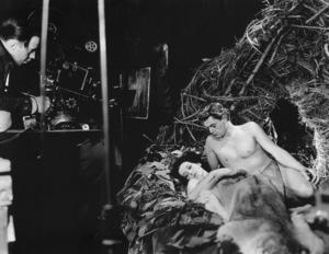 """Tarzan And His Mate""Johnny Weissmuller, Marueen O"