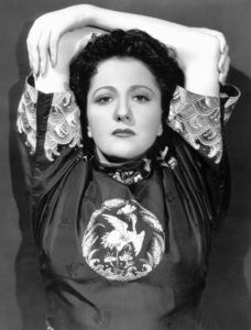 Helen Morgan, tragic Singer and Actress.(star of SHOWBOAT) Warner Bros.1934 First National / **I.V. - Image 19730_0001
