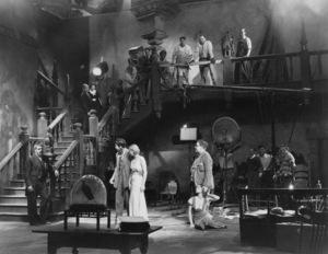 """The Old Dark House""Boris Karloff, Gloria Stuart, Charles Laughton1932 Universal**I.V. - Image 19732_0004"