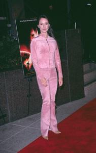"""""""The Impostor"""" Premiere 12/4/01Madeleine Stowe in Westwood, California © 2001 Scott Weiner - Image 19746_0010"""