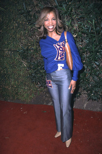 Elise Neal at the Fashion for Freedom show held at the Chaz Dean Studios in Hollywood California. 12/6/01. © 2001 Glenn Weiner - Image 19754_0104