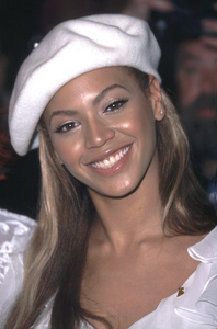 Beyonce Knowles of Destinys Child attends the 44th Annual Grammy awards Nominations at the Beverly Hilton Hotel in Beverly Hills California 1/4/02. © 2002 Glenn Weiner - Image 19782_0100
