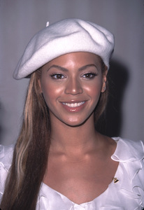 Beyonce Knowles at the 44th annual Grammy nominations held at the Beverly Hilton Hotel in Beverly Hills California 1/4/02 Her group Destinys Child was also nominated for award. © 2002 Glenn Weiner - Image 19782_0102