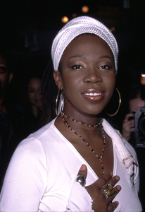 India Arie got seven nominations at the 44th annual Grammy awards. Held at the Beverly Hilton Hotel in Beverly Hills California. 1/4/02. © 2002 Glenn Weiner - Image 19782_0106
