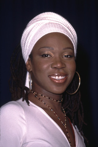 India Arie attends the 44th annual Grammy awards nominations as she snagged seven herself. Beverly Hilton Hotel Beverly Hills California 1/4/02. © 2002 Glenn Weiner - Image 19782_0114