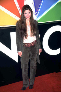 Laura San Giacomo arrives at the NBC 75th anniversary press tour party in Hollywood California 1/9/02. © 2002 Scott Weiner - Image 19803_0114