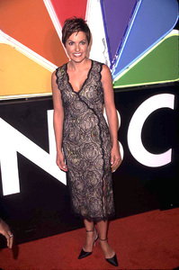 Mariska Hargitay arrives at the 75th anniversary party for NBC press tour in Hollywood California 1/9/02. © 2002 Scott Weiner - Image 19803_0117