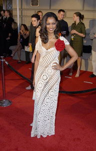 Garcelle Beauvais at the 28th annual Peoples Choice awards in Pasadena California 1/13/02. © 2002 Glenn Weiner - Image 19804_0105