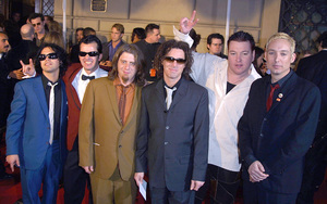 Smashmouth band at the 28th annual Peoples Choice awards in Pasadena Ca. 1/13/02 © 2002 Glenn Weiner - Image 19804_0139