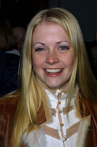 Melissa Joan Hart arrives at the WB Network winter press tour party in Pasadena California 1/15/02. © 2002 Glenn Weiner - Image 19805_0134