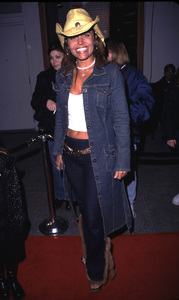Mindy Burbano arrives at the WB Winter press tour party held in Pasadena California 1/15/02. © 2002 Scott Weiner - Image 19805_0136
