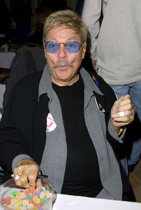 Rip Taylor attends the Hollywood Collectors show held at the Beverly Garland hotel in North Hollywood California 1/20/02. © 2002 Glenn Weiner - Image 19812_0114