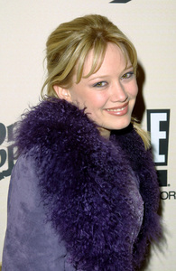 Hilary Duff at the Sizzlin Sixteen 2002 partyheld at Club A.D. in Hollywood California 1/30/02. © 2002 Glenn Weiner - Image 19855_0120