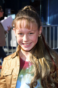 Brie Larson at the premiere of Big Fat Liar held in Universal City California 2/2/02. © 2002 Glenn Weiner - Image 19856_0107