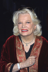Gena Rowlands arrives at the world premiere of the new film John Q held at the Directors Guild of America in Hollywood California 2/7/02 Gena son Nick Cassavetes directs the film. © 2002 Glenn Weiner - Image 19858_0109