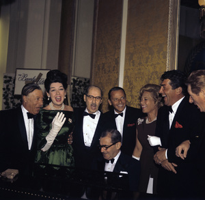 """Screen Producers Guild Awards"" Gerorge E. Jessel, Rosalind Russell, Groucho Marx, Frank Sinatra, Dinah Shore, Dean Martin, Danny Kaye, Irving Berlin1963 © 1978 Bernie Abramson  - Image 20016_0002"