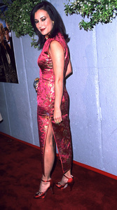 """Cats Meow"" Premiere 4/10/02 Jennifer Tilly © 2002 Scott Weiner / MPTV - Image 20087_0107"