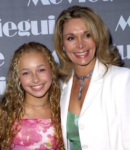 """Movieguide Awards - 10th Annual"" 3/20/02Hayden Panettiere and mom Leslie Vogel © 2002 Scott Weiner - Image 20111_0158"