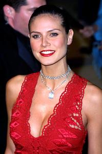 """Vanity Fair Oscar Party 2002"" 3/24/02Heidi Klum © 2002 Glenn Weiner - Image 20112_0118"