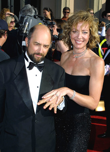 """Screen Actors Guild (SAG) Awards: 8th Annual"" 3/10/02Allison Janney and Richard Schiff © 2002 Glenn Weiner - Image 20113_0100"