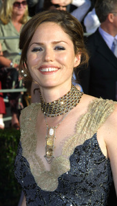"""Screen Actors Guild (SAG) Awards: 8th Annual"" 3/10/02Jorja Fox © 2002 Glenn Weiner - Image 20113_0135"