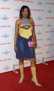 """Back to School Night 2002: 3rd Annual"" 3/09/02Aisha Tyler © 2002 Glenn Weiner - Image 20115_0100"