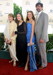 """IFP/West Independent Spirit Awards 2002""3/23/02 Sissy Spacek and family © 2002 Glenn Weiner - Image 20118_0147"