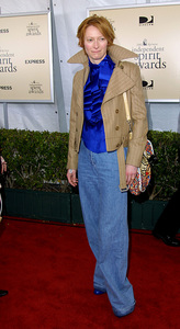"""IFP/West Independent Spirit Awards 2002""3/23/02 Tilda Swinton © 2002 Glenn Weiner - Image 20118_0152"