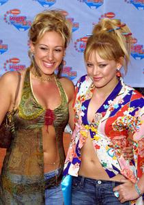 """Kids Choice Awards 2002: 15th Annual"" 4/20/02Haley and Hilary Duff © 2002 Glenn Weiner - Image 20120_0124"