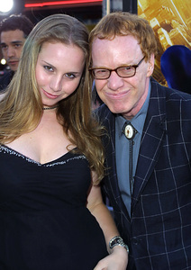 """Spider-man"" Premiere 4/29/02Danny Elfman and date © 2002 Glenn Weiner - Image 20129_0117"