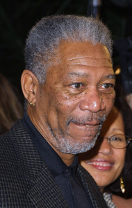 """High Crimes"" Premiere 4/3/02Morgan Freeman © 2002 Glenn Weiner - Image 20138_0121"
