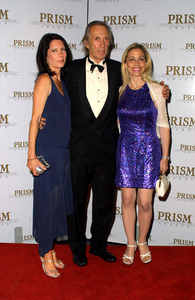 """""""Prism Awards: 6th Annual"""" 5/9/02David Carradine with wife Annie and his lawyer Vicki Roberts © 2002 Glenn Weiner - Image 20171_0110"""