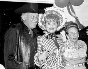 Share Party 1972 Lucille Ball with husband Gary Morton and mother Dee Dee © 1978 Kim Maydole Lynch - Image 20182_0004