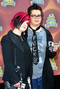 """""""MTV Movie Awards: 2002"""" 6/01/02Kelly and Jack Osbourne © 2002 Glenn Weiner - Image 20204_0121"""
