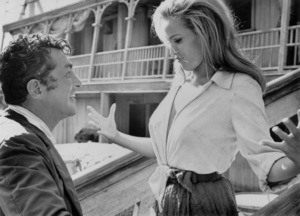 """Ursula Andress and Dean Martin""""Four for Texas""""1963 © 1978 Ted Allen - Image 2022_0012"""