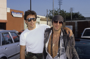 Bruce Springsteen and Steven Van Zandt1986© 1986 Gary Lewis - Image 20223_0064
