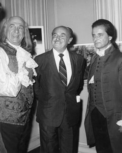 "Howard Da Silva, Jack L. Warner and William Daniels on the set of ""1776""1972 Columbia** B.D.M. - Image 2024_0207"