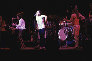 Joe Cocker performing with Leon Russell at the Fillmore East in New York Citycirca 1969 © 1978 Gary Legon - Image 20249_0026