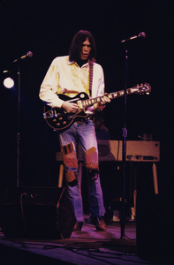 Neil Young performing at the Fillmore East in New York City1969 © 1978 Gary Legon - Image 20298_0018