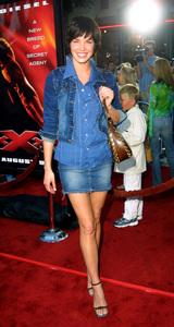 """XXX"" Premiere 8/5/02Ashley Scott © 2002 Glenn Weiner - Image 20362_0101"