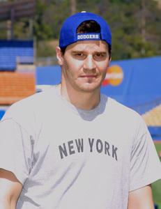 Hollywood Stars Baseball Game 8/10/02David Boreanaz © 2002 Glenn Weiner - Image 20372_0120