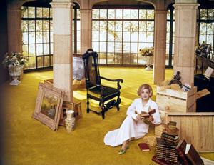 Barbara Bain at home1968© 1978 Tom Kelley - Image 2039_0001