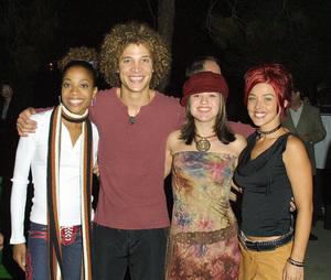 Swimfan: Premiere, Sunset Canyon Center, UCLA, Westwood, CAAmerican Idol Cast: Tamara, Justin, Kelly and Nikki.8/19/02 © 2002 Glenn Weiner - Image 20396_0102