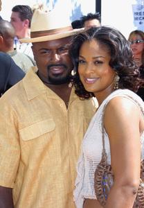 Lady of Soul Train Awards: 8th Annual, Civic Center, Pasadena, CALaila Ali and husband Ya Ya8/24/02 © 2002 Glenn Weiner - Image 20398_0135